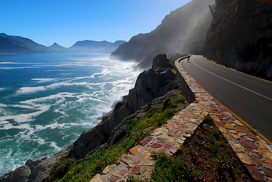 H21562617. Chapman's Peak Drive - Scenic Drive in Cape Town. Mariner Guest House - luxury affordable accommodation in Simon's Town.